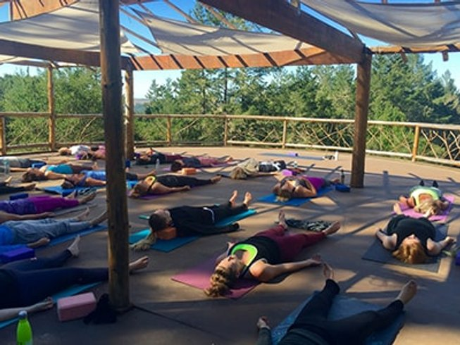 3 days early fall hiking wine and yoga retreat in for Yoga and wine retreat