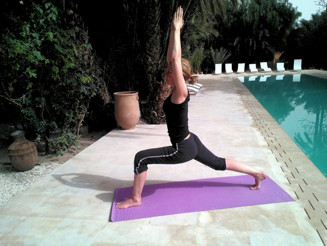 7 Days Yoga with Perumal in Jnane Tamsna, Morocco