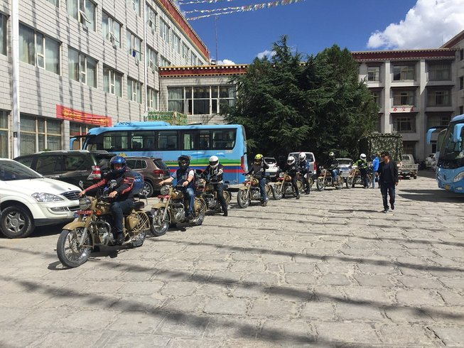 16 Days Guided Motorbike Tour in Nepal and Tibet