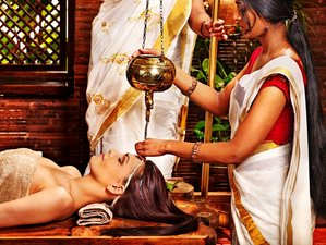 8 Day Luxury Rejuvenation Package with Ayurveda and Yoga Retreat in Kerala