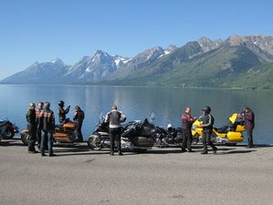 "15 Day Seattle to Los Angeles ""American Rockies"" Guided Motorcycle Tour in the USA"