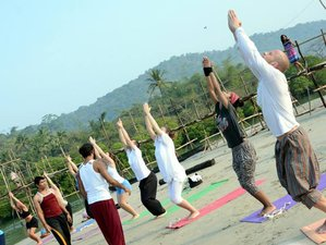 7 Tage Anti-Stress Yoga Urlaub in Goa, Indien