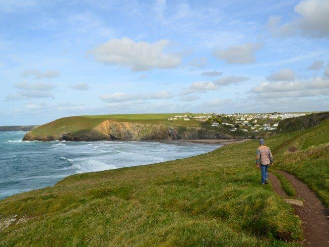 5 Tage Anfänger Yoga Retreat und Geführte Wanderungen in Cornwall, Großbritannien