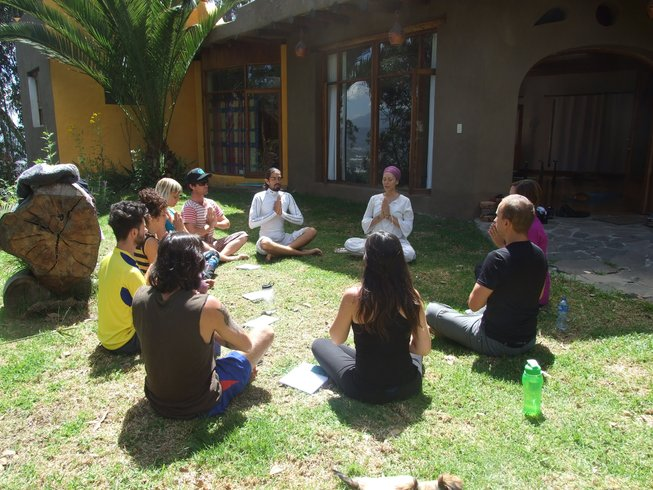 7 Days Meditation and Yoga Retreat in the Andes of Ecuador