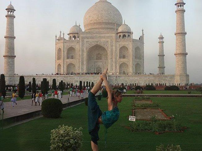 14 jours en stage et circuit de yoga yatra en Inde