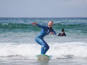 5 Days Beginner and Intermediate Perfect Surf Holiday and Enjoy the Surf Vibe in Lisbon, Portugal