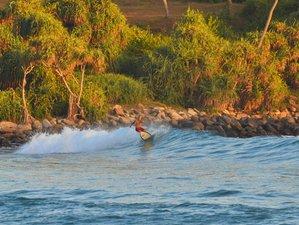 5 Tage Yoga und Surf Camp mit Tempel, Strand, Blow Hall Touren und Boot Safari