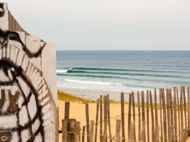 7 Days Adult Surf Camp in Vieux Boucau, France