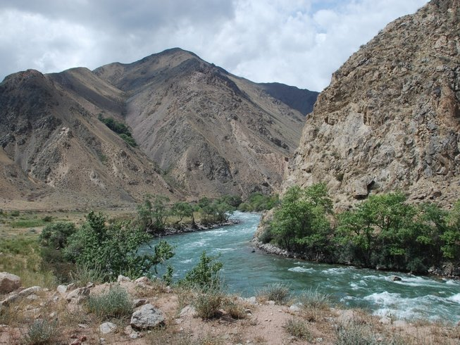 10 Days Off-Road Motorcycle Tour in Kyrgyzstan