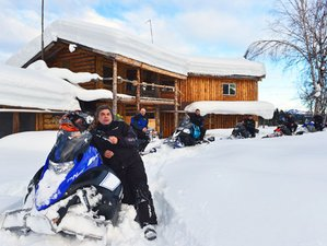 4 Day Alaska Explorer II Guided Snowmobile Adventure in Alaska