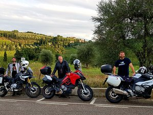 2 Day Chianti and Val d'Orcia Guided Motorcycle Tour in Tuscany, Italy