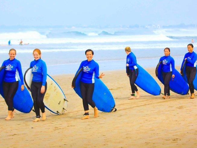 7 Days Women Surf, Spa, and Yoga Retreat in Beautiful Bali