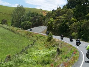 26 Days Self-Guided North and South Island Motorcycle Tour in New Zealand