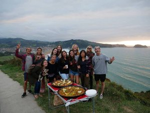 4 Days Surf, Yoga, Hiking in the Basque Hills