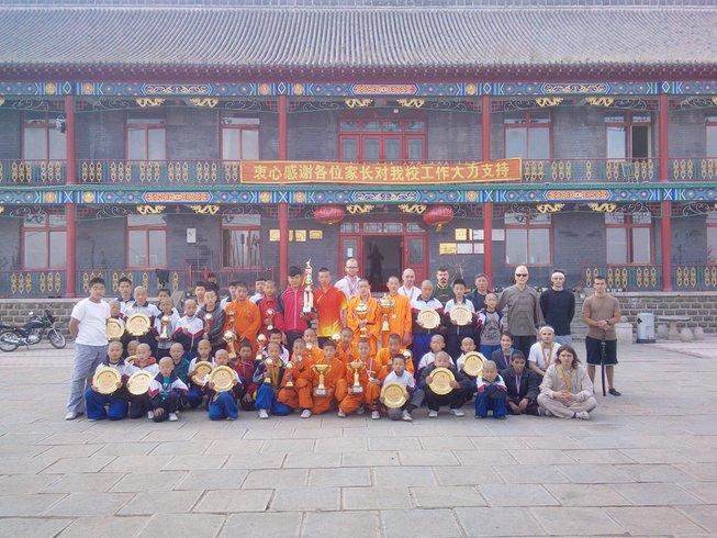 6 Months Learning Qi Gong, Wing Chun & Kung Fu in Jilin
