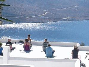 8 jours en séjour de yoga, bien-être et randonnée à Amorgos, Cyclades