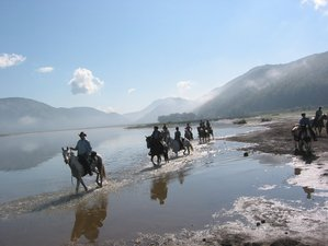 8 Days Exploring Two National Parks on a Trail Riding Holiday near Rome, Italy