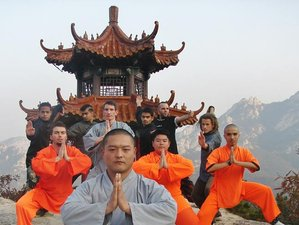 1 Year Chinese Kung Fu Training in China
