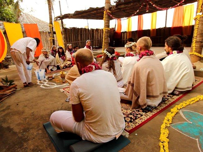 7 días de meditación y retiro de yoga en Gokarna, India