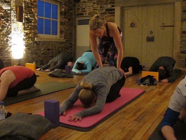 3 Tage Herausforderungen und Spaß Yoga Urlaub in Dublin, Irland
