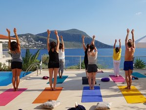8 Tage Yoga und Meditation im idyllischen Künstlerdorf am Mittelmeer in Kalkan, Türkei