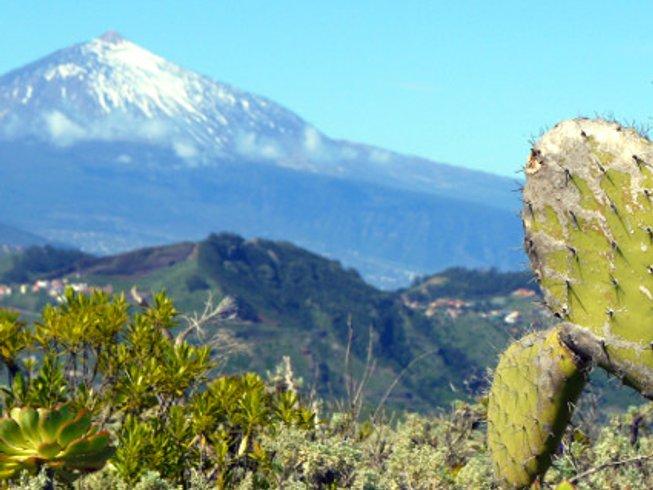 6 días retiro de yoga y senderismo en Año Nuevo en Tenerife, España