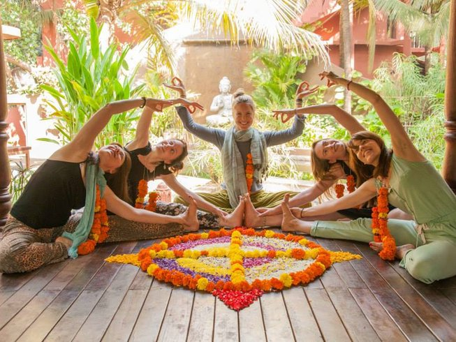 8 Days Winter Solstice Christmas Yoga Retreat in Goa, India