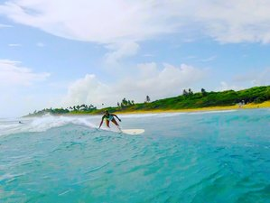 8 Days Surf and Yoga Holiday at a Beachfront Eco Hotel, Cabarete, Dominican Republic