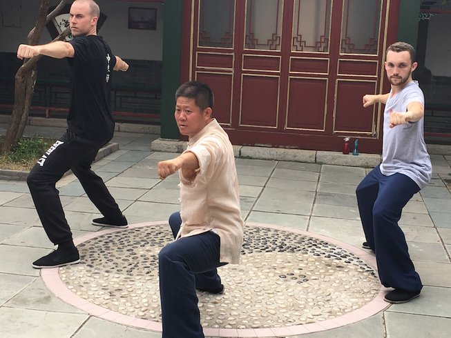 3 Years Kung Fu Trainer Training in Beijing, China