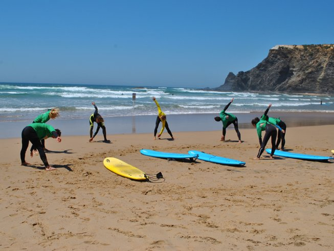 7 Days Surf Camp in Perdigao, Portugal