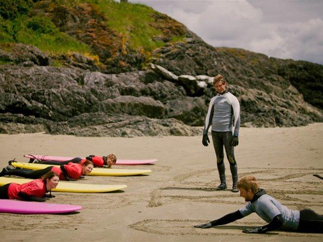5 Days Wonderful Beginner Surf Camp Canada