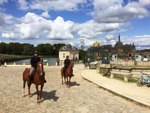4 Day Horse Riding Holiday for All Levels in Chamant, Oise