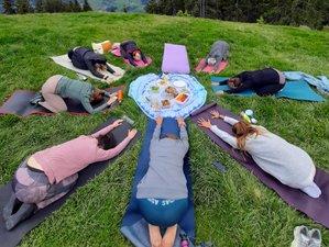 3 Tage Yoga Retreat mit Geführten Wanderungen auf der Urigen Almhütte im Salzburger Land