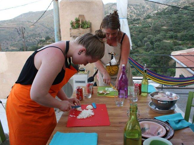 8 Days Organic Vegetarian Holiday in Crete, Greece