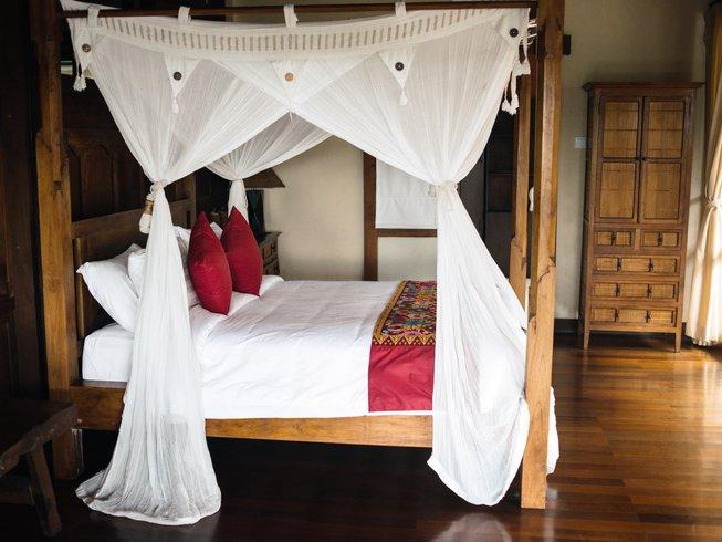 "7-Daagse ""Goddelijk Lichaam"" Rawfood en Yoga Retraite op Bali, Indonesië"