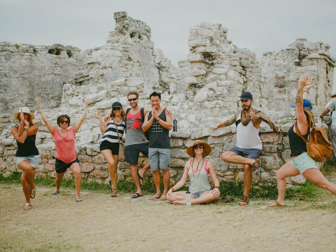 7 jours en stage de yoga en front de mer sur la riviera maya, Mexique