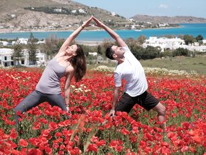 6 Days Asana, Pranayama, & Meditation Exploration Anusara Yoga Retreat in Paros, Greece