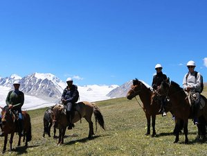 15 Day Horseback Riding Tour in Western Mongolia