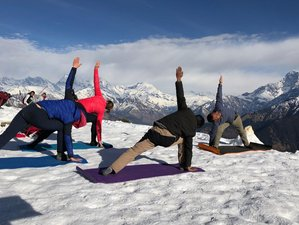 11 Day Yoga Holiday with Trekking in the High Mountain Beneath Lake, Nepal