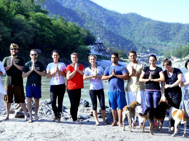 26-Daagse 200-urige Hatha Yoga Docentenopleiding in India