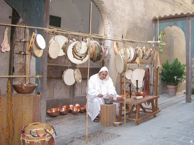 5 Days Medieval Market & Culinary Holidays in Umbria