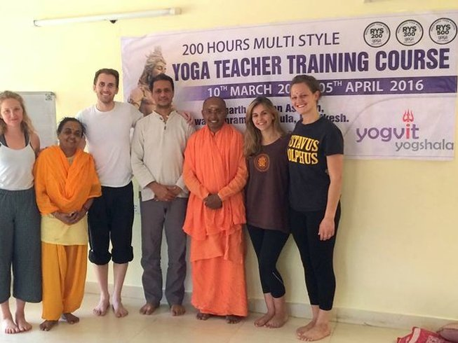 27 Days 300-Hour Yoga Teacher Training in Goa, India