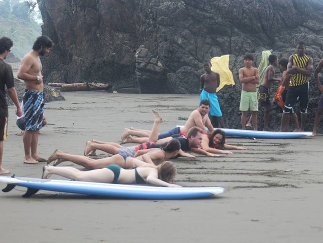 3 Days Safari Surf Camp Colombia
