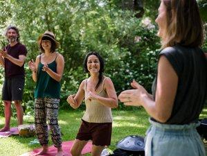 5 jours en retraite de yoga et mantras pour vibrer la joie à Eancé, Bretagne