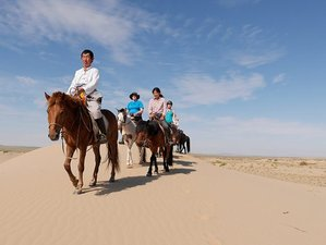 12 Day Horseback Riding Vacations in Gobi Steppe, Mongolia