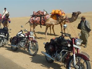 15 Days Incredible Motorbike Tour in India