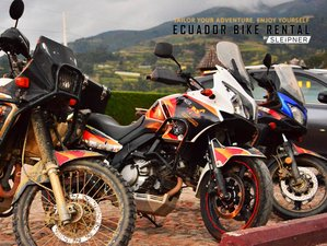 2 Day Off-Road Mindo Dirt Back Road Self-Guided Motorcycle Tour in Ecuador