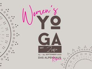 3 Tage Zsofia's Women Yoga Retreat Wochenende in Kaprun, Salzburger Land