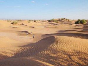 8 jours en circuit de yoga, méditation et Shiatsu dans le désert au Maroc