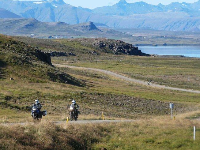 11 Days BMW Motorcycle Tour Iceland